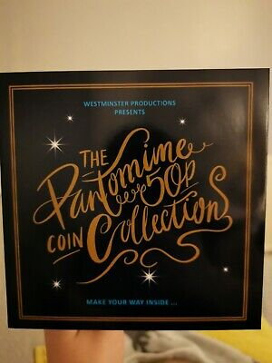 The Christmas Pantomime 50p Coin Set from WESTMINISTER COLLECTION ROYAL MINT