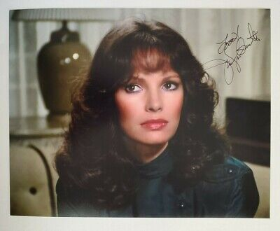 Jaclyn Smith Charlies Angels signed 8x10 Photo Coa authentic autograph
