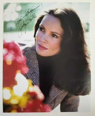Jaclyn Smith Charlies Angels signed 8x10 Photo Coa authentic autograph a