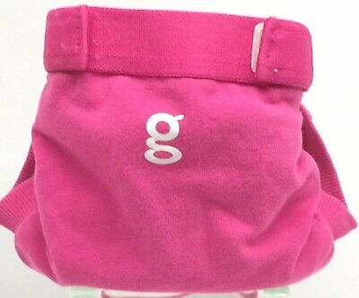 Gdiapers Small Goddess Pink Gpant & Pouch Euc