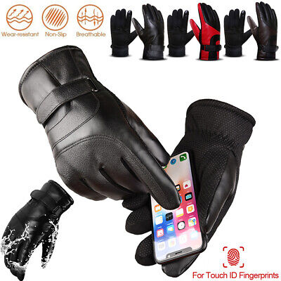 Women Men Winter Warm Waterproof Touch Screen Ski Snowboard Snow Thermal Gloves