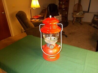 Vgt Coleman 200A  Red-Top Single Mantle Lantern  Dated 3- 59