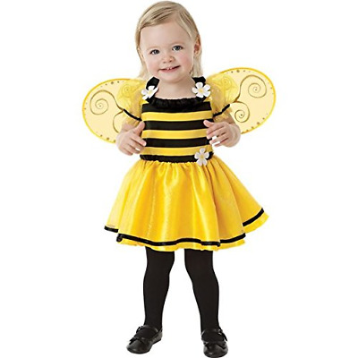 Bumble Bee Age 1-2 Girls Fancy Dress Animal Insect Book Week Kids Childs Costume