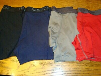 4 Men's Boxers Briefs - Fruit of the Loom Everlight & Breathable - Size M - New