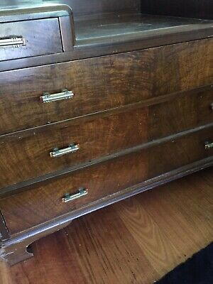 Antique Art deco Bedroom Dresser