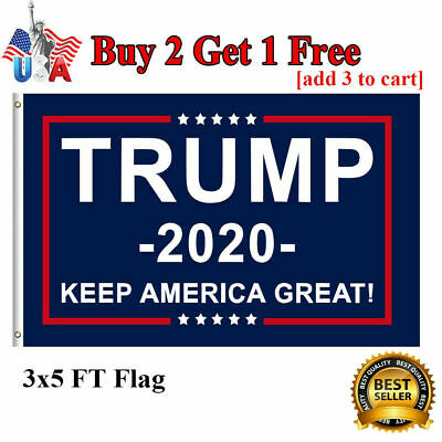 Trump 2020 Keep America Great President MAGA 3 x 5Ft Flag America Great US STOCK