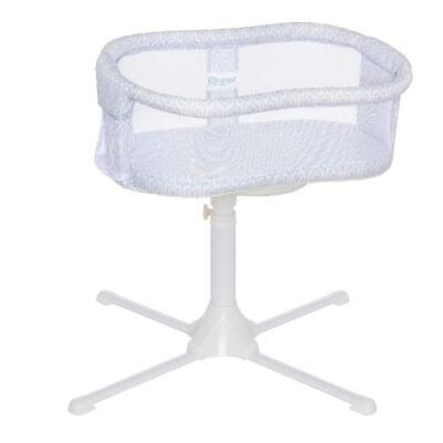 SAFE HALO Bassinest Swivel Baby Babies Sleeper Bassinet - Essentia Series, white