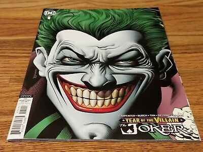 The Joker: Year of The Villian #1 Brian Bolland Retailer Incentive Variant NM