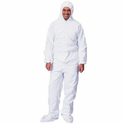 Overalls x25 Protective disposable coveralls - White, Free Freight, Sml & Medium