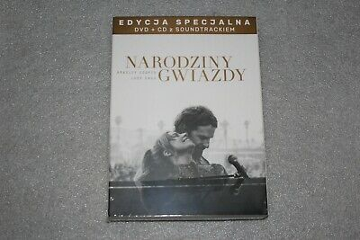 Narodziny gwiazdy DVD A STAR IS BORN LADY GAGA  SPECIAL EDITION CD+DVD  NEW