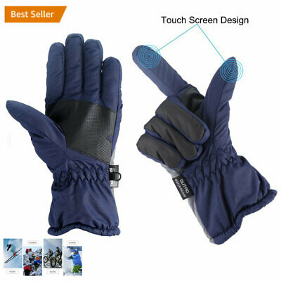 -30℃ Ski Waterproof Winter Ski Gloves Men Winter Snow Skiing Cycle Gloves CF