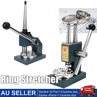 Jewelry Ring Stretcher Reducer Enlarger Machine Adjustment Sizer Gauge Tool