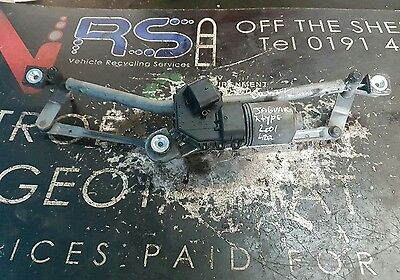 Jaguar X Type FRONT WIPER LINKAGE MOTOR  SE 2005