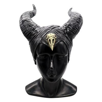 Halloween Hat Horns Cosplay Maleficent Evil Queen Headpiece Headwear Costume