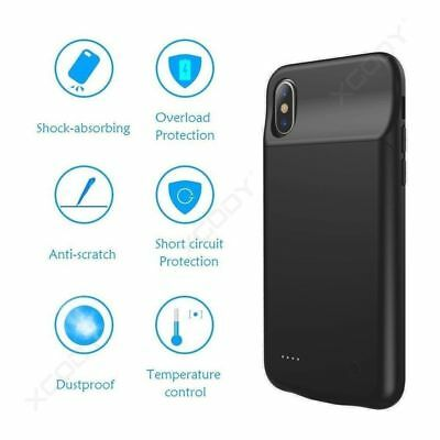 Portable Charging Cover For Apple iPhone X Battery Case Rechargeable Charger