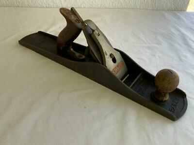 GREAT VINTAGE LONG STANLEY BAILEY PLANE No.6 C461 WOODWORK CARPENTERS HAND TOOL