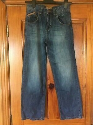 Next Boys Age 12 Blue Jeans Height 152cm in Great Condition 100% Cotton