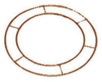 "Wreath Metal Frame Make Your Own 16"" Flat Wire Ring Christmas Floristry Crafts"