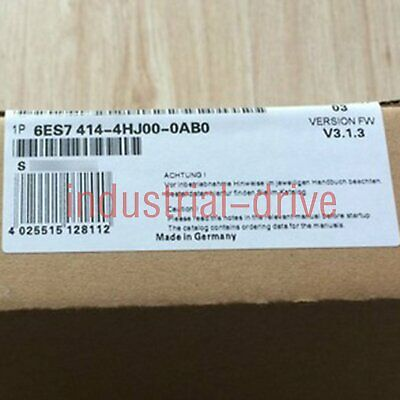Brand New Siemens 6ES7 414-4HJ00-0AB0 Quality assurance One year warranty