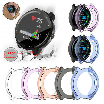 TPU Transparent Protective Case Watch Cover for Garmin Vivoactive 3 Music New