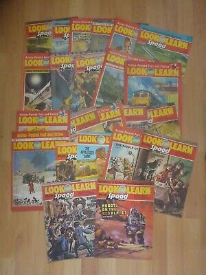 Bundle of 23 Look and Learn Magazines