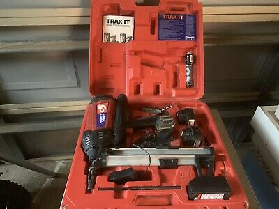 Powers Trak-it C5 Gas Concrete Nailer