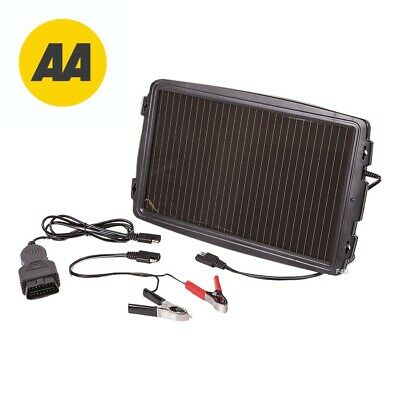 AA 12V Solar Powered Car Caravan Camper Battery Charger Solar Panel OBD Version