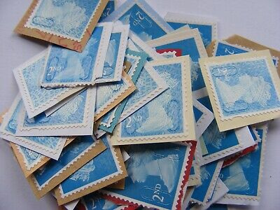 70 2nd class stamps unfranked                 (lot 283)