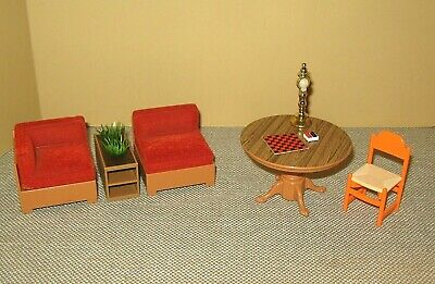 TOMY Smaller Homes Dollhouse ~ Furniture & Accessories Lot