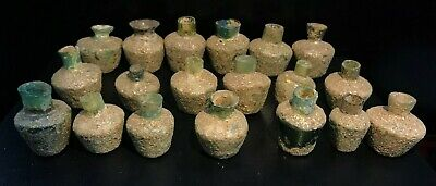 VERY RARE LOTS ANCIENT ROMAN GLASS VESSEL 1st Century A.D.