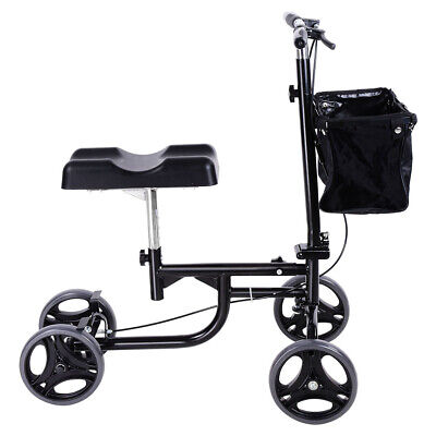 Steerable Knee Walker Scooter Mobility Alternative Crutches Wheelchair Basket