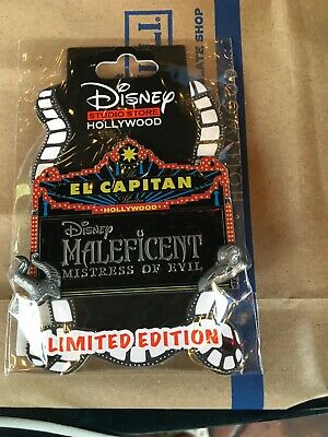 Disney  Dssh Dsf Maleficent Mistress Of Evil Pin Set Le 300 With Surprise Pin