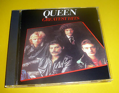 """Cd """" Queen - Greatest Hits """" Best Of / 17 Songs  (We Are The Champions)"""