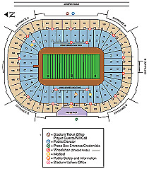 4 ND vs Virginia Tech Football Tickets and a Library parking pass  Nov. 2 2019