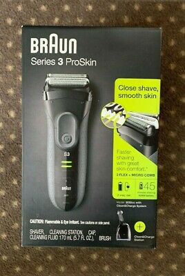 Braun Series 3 Pro Skin 3050cc Electric Shaver For Men BRAND NEW IN THE BOX