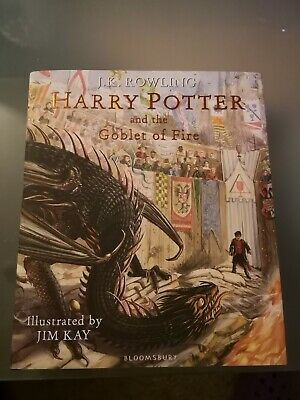 Harry Potter And The Goblet Of Fire: Illustrated Edition. By J.K. Rowling