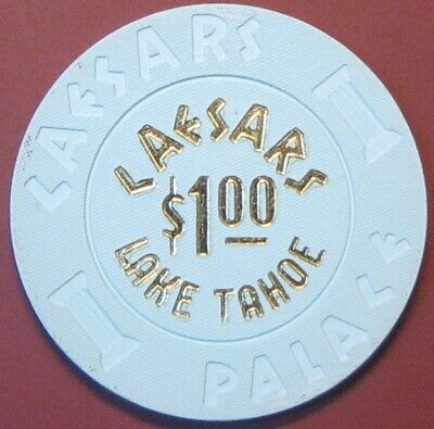$1 Casino Chip. Caesars, Lake Tahoe, NV. G45.