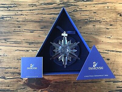 Swarovski 2006 Annual Edition Christmas Ornament