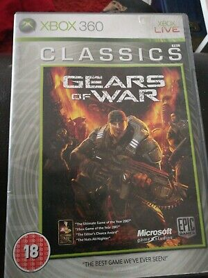 Gears Of War Xbox 360 Game Boxed PAL