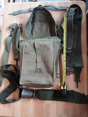 1942 1943 1944 US WW2  BAG BACK PACK WWII  Ammo pack?