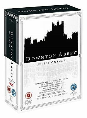 Downton Abbey Series 1 to 6 Complete Collection Region 2 DVD