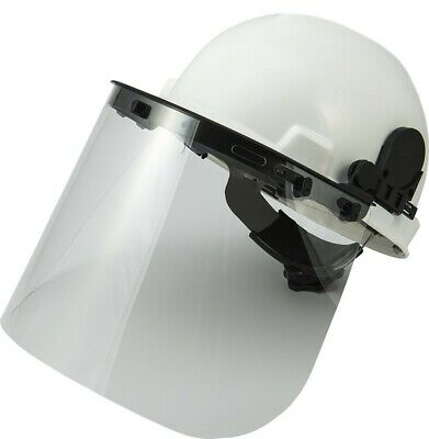 Majestic 85-6020 Flip Front Visor Carrier/Side Cap Bracket Snap Mount, New