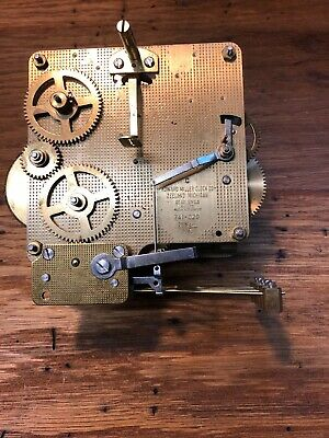 Howard Miller 341-020 Clock Movement For Parts (Untested/Springs Good) (Lot L40)