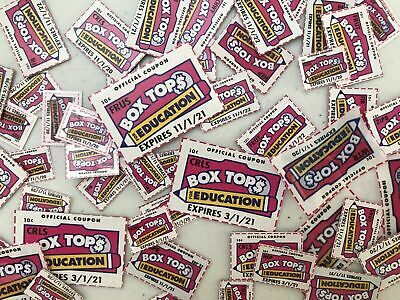 50 Box Tops for Education BTFE Lot Trimmed None Expired
