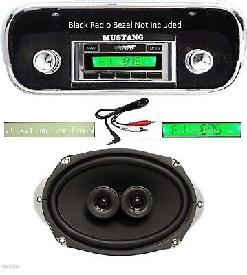 Stereo Dash Replacement Speaker w AC 6x9/'s *230 1969 Chevy Chevelle Radio