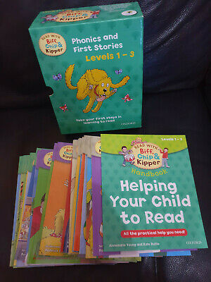 Read with Biff, Chip and Kipper Book Sets - Levels 1-3 and Level 4-6