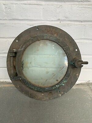 Antique Barn Find Ships Port Hole WC Wilcox #8
