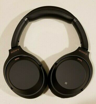 Sony WH1000XM3 Wireless Noise Cancelling Bluetooth Headphones *NEW* - Black