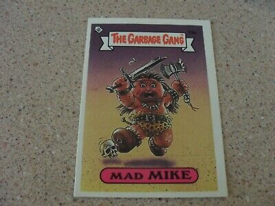 The Garbage Gang series 1 (AUS series) 33A MAD MIKE card
