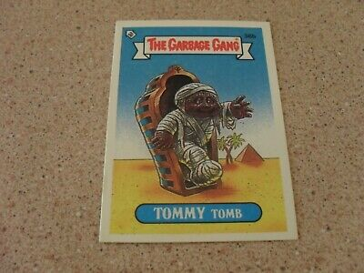 The Garbage Gang series 1 (AUS series) 36B TOMMY TOMB card
